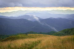 Backpacking and Camping Along The Appalachian Trail Royalty Free Stock Photography