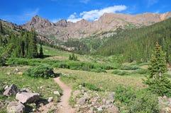 Backpacking em Colorado Imagem de Stock