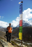 Backpacking in the Himalaya Stock Images