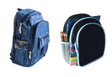 backpacks обучают 2 стоковые изображения rf
