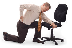 Backpain Stock Image