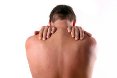 Backpain Stock Photography