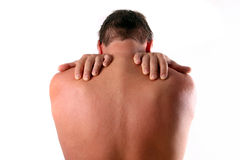 Backpain Royalty Free Stock Photo
