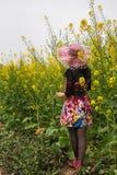 Backprofile de una mujer Fotografía de archivo libre de regalías