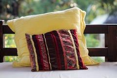 Backrest pillow Stock Photos