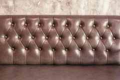 Backrest of sofa Stock Images