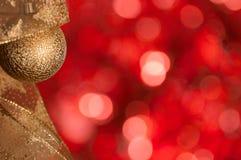Backrgound del nuovo anno e di Natale Fotografia Stock Libera da Diritti