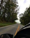 Backroad drive stock photos