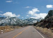 Free Backroad Near Madrid, New Mexico Royalty Free Stock Photo - 10728375
