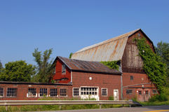 Backroads Barn Royalty Free Stock Photos