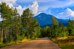 The Backroads Of Colorado Stock Photo