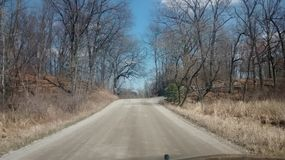 Backroads Michigan Royalty Free Stock Images