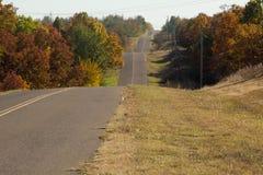 Backroads rt 66 de Oklahoma Imágenes de archivo libres de regalías