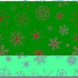 backround无缝的雪 向量例证