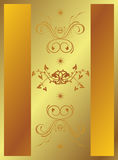 backround χρυσός απεικόνιση αποθεμάτων