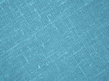 Backround бирюзы - Linen холст - фото запаса Стоковое Изображение