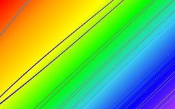 Backround влияния радуги Стоковое Изображение