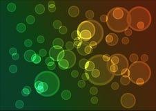 Backround с вектором пузырей Стоковое фото RF