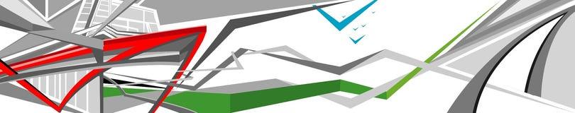 Backround abstracto ilustración del vector