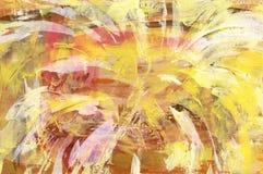 Backround abstracto amarillo Fotos de archivo