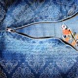 Backround abstrait de jeans Images stock