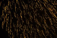 Backround abstrato de fogos-de-artifício bonitos Fotos de Stock Royalty Free