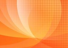 Backround arancione Fotografie Stock Libere da Diritti
