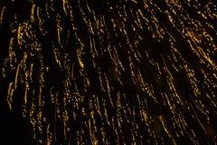 Backround astratto di bei fuochi d'artificio Fotografie Stock Libere da Diritti