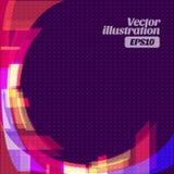 Backround astratto geometrico Fotografia Stock Libera da Diritti