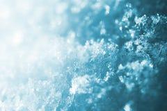backround azul de la nieve foto de archivo