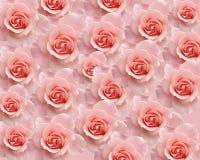 Backround con le rose Immagini Stock Libere da Diritti