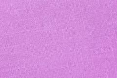 Backround cor-de-rosa - lona de linho - foto conservada em estoque Imagem de Stock