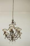Backround cristalino hermoso de la lámpara (vintage procesado imagen filtrado Fotos de archivo libres de regalías