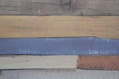 Backround de madera colorido Foto de archivo libre de regalías