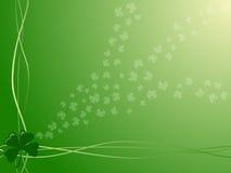Backround del día del St. Patrick Imagen de archivo libre de regalías