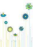 Backround floral de Abastract Imagem de Stock