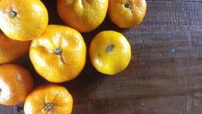 Backround misto dell'arancia dolce Fotografia Stock