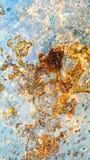 backround oxidado del metal, textura de la oxidación, Fotos de archivo