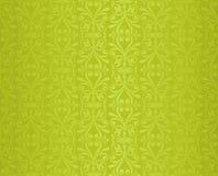 Backround repetible del dise?o de Pascua del modelo del vector adornado decorativo floral verde del papel pintado ilustración del vector