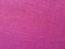 Backround rosa - tela di tela Fotografia Stock