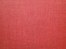 Backround rosso - vecchia tela - foto di riserva Fotografia Stock