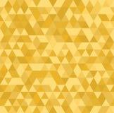 Backround senza cuciture dell'estratto del mosaico dell'oro illustrazione di stock