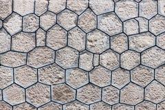 Backround texturisé polygonal de mur image libre de droits