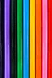 Backround van kleurenpotloden Stock Afbeelding
