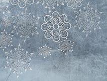 Backrounds del invierno stock de ilustración