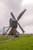 Backside of a Dutch windmill Stock Photography