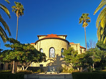 The Backside of Memorial Chapel at Stanford Univer