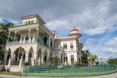 Palace de Valle, Cienfuegos, Cuba Royalty Free Stock Images