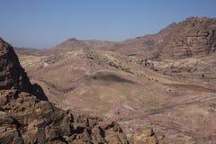 Backside of Petra royalty free stock image