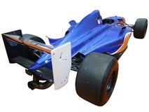 Backside of racing car Royalty Free Stock Photo